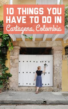 Cartagena has more than just food and nightlife. If you're looking for some fun activities, here are 10 things to do in Cartagena, Colombia! Trip To Colombia, Colombia Travel, Stuff To Do, Things To Do, Panama City Panama, Panama Cruise, Panama Canal, South America Travel, Roadtrip