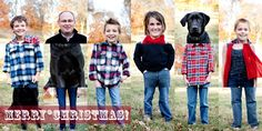 Fun idea for a family Christmas card....if I ever did one.