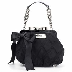 Mini Madison Frame Bag Adorable small handbag! Comes in Pink and Green too! Perfect for an elegant evening out.