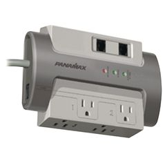 Panamax 4-outlet Max 4 Ex Surge Protector (with 1 Lan & 1 Dsl Protection)