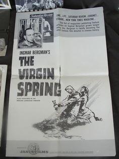 10 Pieces of Vintage Entertainment Memorabilia Moby Dick Virgin Spring