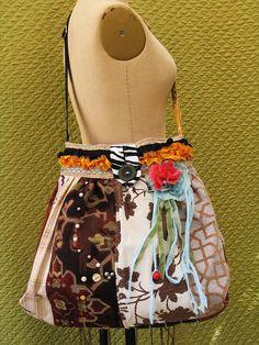 Bohemian Purse -Gypsy Bag -Carpet Bag -large Tapestry -Pleaded-Silk ...