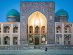 Une mosquée à Boukhara, Ouzbékistan. Una mezquita en Bujara, UzbekistánPicture of a mosque in Bukhara, Uzbekistan