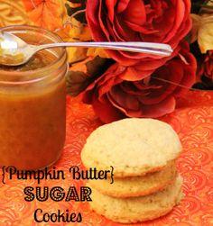 Pumpkin Butter Sugar Cookies on MyRecipeMagic.com