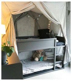 Bedroom Hacks, Ikea Bedroom, Bedroom Furniture, Bedroom Decor, Bedroom Ideas, Bedroom Girls, Bed Ideas, Decor Ideas, Childs Bedroom