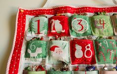 Dashwood Studios Advent Calendar - Sewing project - This Little Space of Mine