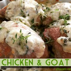 Chicken & Goat Dinner tonight, June 22, 2015 Delicious and fusion, dish for the gourmet kind of people