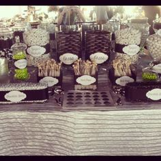 www.miamiblusheventboutique.com  Wedding candy bar!
