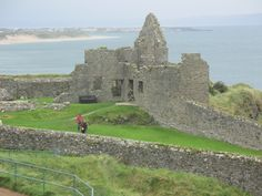 Dunluce Castle, North Coast, Northern Ireland