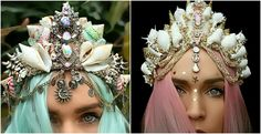 You've Never Seen Anything Like These Handmade Mermaid Crowns!