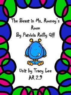 The Beast In Ms Rooney S Room Reading Level