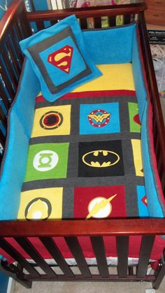 Custom Made Superhero Fleece Applique Superhero baby bedding, Superhero Crib… Baby Boy Rooms, Baby Boy Nurseries, Superhero Boys Room, Marvel Nursery, Crib Sets, Creation Couture, Baby Decor, Trendy Baby, Baby Love
