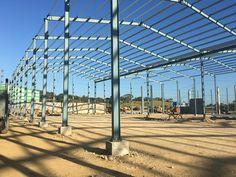 Proyecto Industrias Nigua, 9,000 metros cuadrados de Naves Industrial Metálica, Parque Industrial DISDO, Santo Domingo, República Dominicana by Cubierta Dominicana SRL