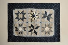 https://flic.kr/p/dWM1XD | Hand Pieced Star Sampler | Take your hand piecing skills to the stars with this sparkling sampler quilt. Learn techniques for quicker marking, how to hand piece diamonds, set in squares & triangles and tackle quarter square triangles with confidence. The six unique star blocks are completed with sashing, corner stones and a border into your final quilt top. Previous hand piecing experience required.  Design by Carolanne Graham