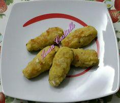 Barchette di zucchine ripiene di patate e brie