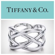 RARE! Tiffany & Co Celtic Knot Ring💞 Discontinued RARE! Tiffany & Co Celtic Knot Ring💞 size 8 100% authentic discontinued ring purchased for $300 about 6-7 years ago. Only worn a handful of times, kept in excellent condition. Time for someone else to enjoy😊 Since this ring is very rare and discontinued, my price does not have much wiggle room, but I am still open to offers. Comes with box & cloth bag. More pictures and details coming soon🌟 Tiffany & Co. Jewelry Rings