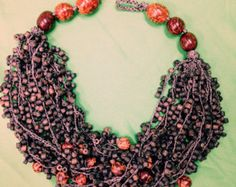 Your Shop - Items Exotic, Crochet Necklace, How To Wear, Shopping, Jewelry, Look, Fashion, Crochet Collar, Jewellery Making