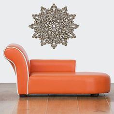 Wall Vinyl Sticker Decals Mural Room Design Pattern Yoga Hindu Buddha Sign Mandala bo391