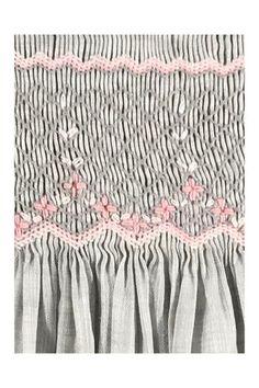Smocking Plates, Smocking Patterns, Embroidery Patterns, Sewing Patterns, Smocked Baby Clothes, Smocked Clothing, Sewing Clothes, Doll Clothes, Baby Dress Design