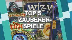 "Top 5 ""Zauberer-Spiele"""