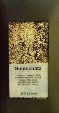 Goldschatz Schokolade