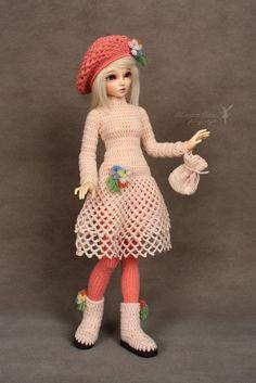Doll outfit set for MiniFee slim MSD BJD by MaramBanu on Etsy, $45.00