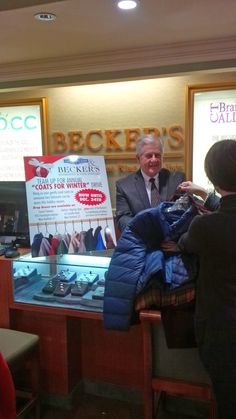 Becker's has teamed up with French Cleaners for our annual COATS FOR WINTER DRIVE!  Donate your gently used coats so someone less fortunate can be warm this season!  Drop boxes are available at French Cleaners and Becker's in West Hartford...as well as all of our 16 Gold Buying Locations throughout CT.  You can donate now through December 24th, 2013. Spread the word!