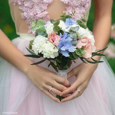 Spring bridal bouquet Весенний нежный букет невесты