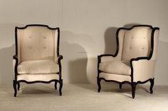 pair-of-french-ebonised-armchairs