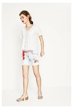 Shorts Capricorni Desigual. ¡Descubre la colección primavera-verano 2017!