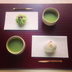 抹茶和菓子