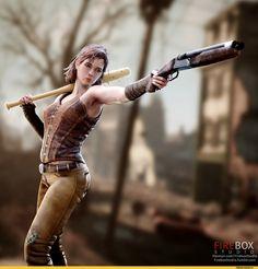 Fallout Ero,Fallout,Фоллаут,,фэндомы,Cait (Fallout 4),Fallout персонажи,Fallout компаньоны, ,FireboxStudio,artist,3D