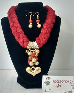 soft red boho beads large red beads necklace Statement large beads terracotta-red necklace and brooch set large red beaded boho necklace