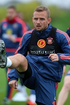 Lee Cattermole during a Sunderland training session