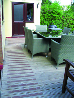 Our Anti Slip Decking Strips are suitable for Commercial and Residential.