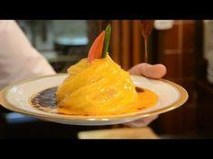 卵が貴婦人のドレスのよう!「ドレス・ド・オムライス」の作り方 - macaroni