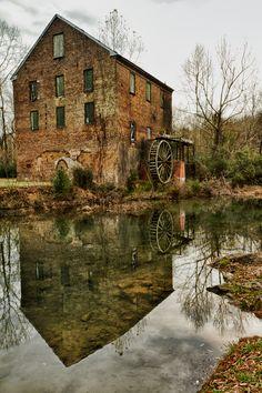 """""""Lindale Waterwheel"""" Lindale, GA"""