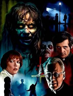 I post a variety of interests: Silent Film History, Silver and Small Screen History, Nature Photography, Tons and varieties of GIFs, and Fantasy Art. Exorcist Movie, The Exorcist 1973, Movie V, It Movie Cast, Scary Shows, October Art, Occult Art, Famous Monsters, Classic Horror Movies