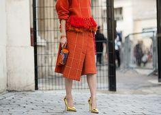 Via:LuckyMagazine Street Style: 80 Stellar Outfits From Paris Fashion Week