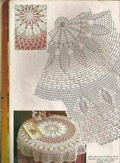 Мобильный LiveInternet Muestras y Motivos Especial Panos 1 Crochet Patterns Filet, Crochet Tablecloth Pattern, Crochet Doily Diagram, Crochet Bedspread, Crochet Mandala, Crochet Chart, Thread Crochet, Crochet Motif, Crochet Circles