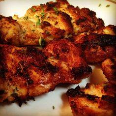 Buttermilk Thyme Chicken Thighs....Ohhhhh my YUM!!!!
