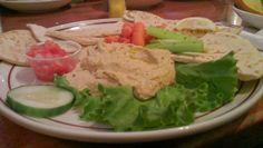 Jassy meldet sich mit einem Restauranttest aus Ohio: Pita Bread mit Hummus und Veggies