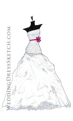12 best dress sketches images dress sketches vera wang dress Fashion Design Sketches for Beginners drawing of wedding gown wedding dress illustrations wedding dress sketches fashion illustrations wedding