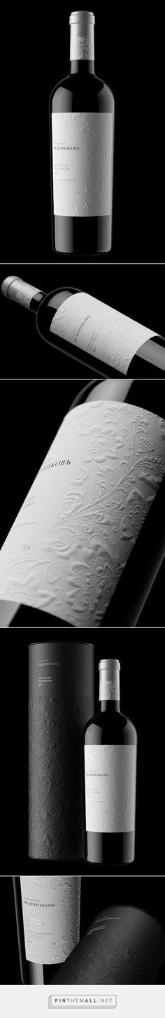 Vedernikov #Wine #packaging by Unicorn Studio Moscow - http://www.packagingoftheworld.com/2015/02/vedernikov-winery.html