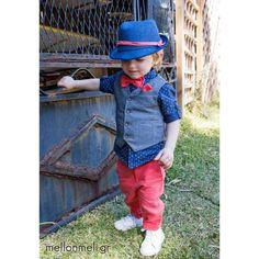 Bambolino - Βαπτιστικό Σετ Tony συλλογή Άνοιξη/Καλοκαίρι Hats, Fashion, Moda, Hat, Fashion Styles, Fashion Illustrations, Hipster Hat