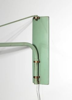 For Sale on 1stdibs - Large adjustable wall light, edited by Maison Lunel in France. Structure in metal and brass. E 27 bulb L. max 148 cm. French Walls, Mid Century Lighting, Wall Sconces, Wall Lights, Bulb, Brass, France, Metal, Home Decor