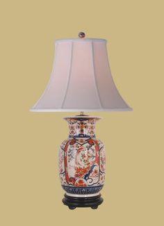 Imari Lamps
