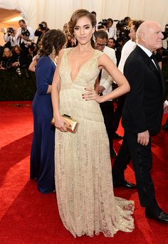 Jessica Alba | All The Pretty Dresses From The 2014 Met Ball
