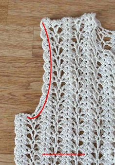 Cutout detail for openwork crochet jacket armholes Best Picture For crochet stitches For Your Taste You are looking for something, and it is going to. Col Crochet, Crochet Jacket, Freeform Crochet, Crochet Cardigan, Crochet Scarves, Crochet Clothes, Crochet Stitches, Crochet Baby, Filet Crochet