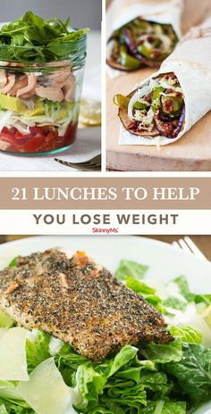 Ditch the temptation to hit the takeout line or throw a frozen meal into the microwave! Your body and taste buds deserve good-for-you lunch ideas that will help you lose weight fast. #StomachFatBurningFoods Clean Eating Recipes, Lunch Recipes, Appetizer Recipes, Healthy Eating, Cooking Recipes, Healthy Recipes, Healthy Lunches, Skinny Recipes, Detox Recipes